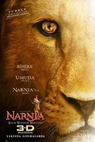 The Chronicles of Narnia: The Voyage of the Dawn Treader - Turkish Movie Poster (xs thumbnail)