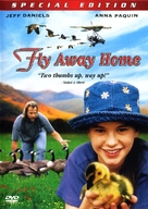 Fly Away Home - DVD cover (xs thumbnail)