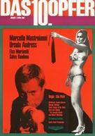 La decima vittima - German Movie Poster (xs thumbnail)