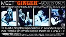 Ginger - Movie Poster (xs thumbnail)