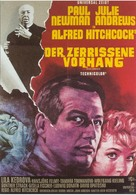 Torn Curtain - German Movie Poster (xs thumbnail)