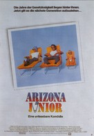 Raising Arizona - German Movie Poster (xs thumbnail)