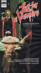 Lust for a Vampire - VHS movie cover (xs thumbnail)