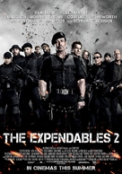 The Expendables 2 - German Movie Poster (xs thumbnail)