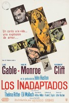 The Misfits - Argentinian Movie Poster (xs thumbnail)