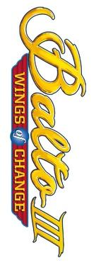 Balto III: Wings of Change - Logo (xs thumbnail)