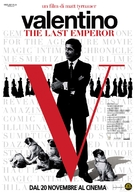 Valentino: The Last Emperor - Italian Movie Poster (xs thumbnail)