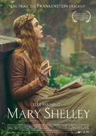 Mary Shelley - German Movie Poster (xs thumbnail)
