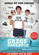 Diary of a Wimpy Kid - German Movie Poster (xs thumbnail)
