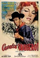 Ride, Vaquero! - Italian Movie Poster (xs thumbnail)