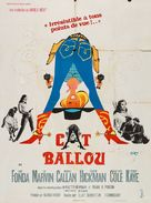 Cat Ballou - French Movie Poster (xs thumbnail)
