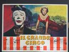 The Big Circus - Italian Movie Poster (xs thumbnail)