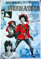 Masque de fer, Le - Swedish Movie Poster (xs thumbnail)