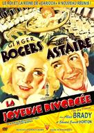 The Gay Divorcee - French DVD movie cover (xs thumbnail)