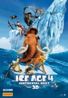 Ice Age: Continental Drift - Australian Movie Poster (xs thumbnail)