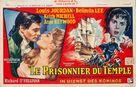 Dangerous Exile - Belgian Movie Poster (xs thumbnail)