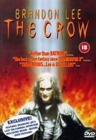 The Crow - British DVD cover (xs thumbnail)