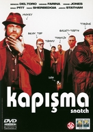 Snatch - Turkish DVD movie cover (xs thumbnail)