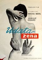 Une femme mariée: Suite de fragments d'un film tourné en 1964 - Romanian Movie Poster (xs thumbnail)