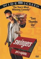 Swingers - DVD movie cover (xs thumbnail)