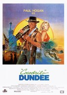 Crocodile Dundee - Spanish Movie Poster (xs thumbnail)