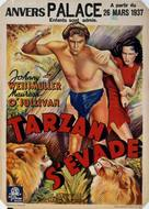 Tarzan Escapes - Belgian Movie Poster (xs thumbnail)