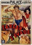 Tarzan Escapes - Belgian Movie Poster (xs thumbnail)