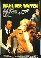 Le choix des armes - German Movie Poster (xs thumbnail)