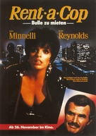Rent-a-Cop - German Movie Poster (xs thumbnail)