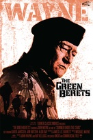 The Green Berets - Re-release poster (xs thumbnail)
