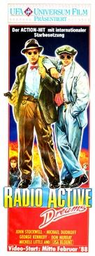 Radioactive Dreams - German Movie Poster (xs thumbnail)