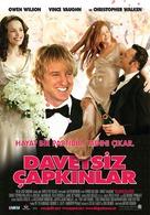 Wedding Crashers - Turkish Movie Poster (xs thumbnail)