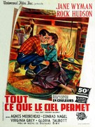 All That Heaven Allows - French Movie Poster (xs thumbnail)