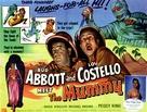 Abbott and Costello Meet the Mummy - British poster (xs thumbnail)