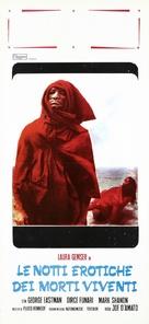 Le notti erotiche dei morti viventi - Italian Movie Poster (xs thumbnail)