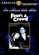 Four's a Crowd - DVD cover (xs thumbnail)