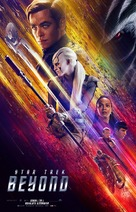 Star Trek Beyond - Danish Movie Poster (xs thumbnail)