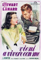 Come Live with Me - Italian Movie Poster (xs thumbnail)