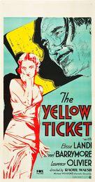 The Yellow Ticket - Movie Poster (xs thumbnail)