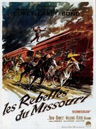 The Great Missouri Raid - French Movie Poster (xs thumbnail)