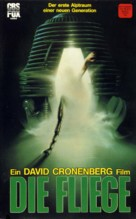 The Fly - German VHS movie cover (xs thumbnail)