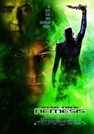 Star Trek: Nemesis - German Movie Poster (xs thumbnail)