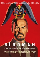 Birdman - DVD cover (xs thumbnail)