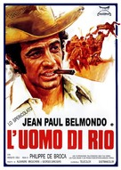 L'homme de Rio - Italian Movie Poster (xs thumbnail)