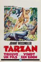 Tarzan Finds a Son! - Belgian Movie Poster (xs thumbnail)