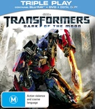 Transformers: Dark of the Moon - Australian Blu-Ray movie cover (xs thumbnail)