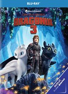 How to Train Your Dragon: The Hidden World - Romanian Blu-Ray cover (xs thumbnail)