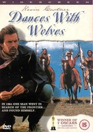 Dances with Wolves - British DVD movie cover (xs thumbnail)
