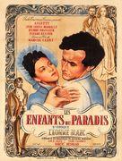 Les enfants du paradis - French Movie Poster (xs thumbnail)