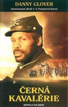 Buffalo Soldiers - Czech VHS cover (xs thumbnail)